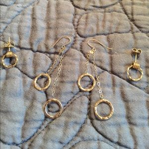 Jewelry - Bundle of Gold Circle Earrings